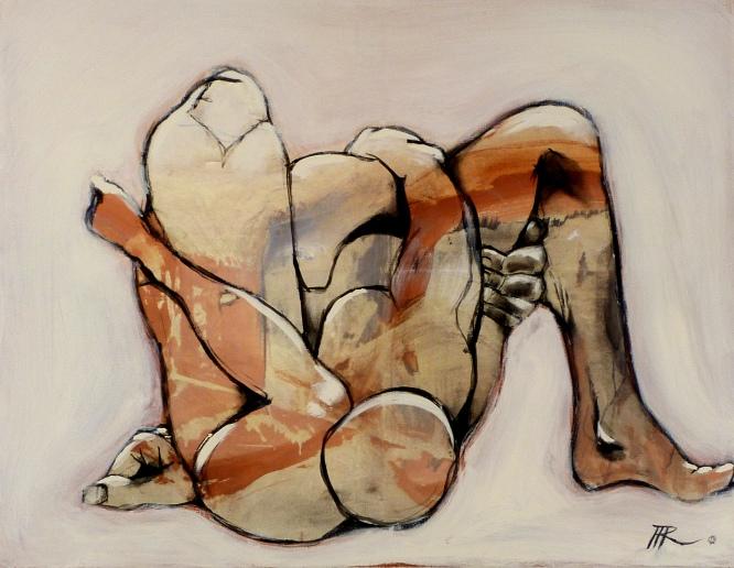 70 x 90, acrylique sur toile, 2010