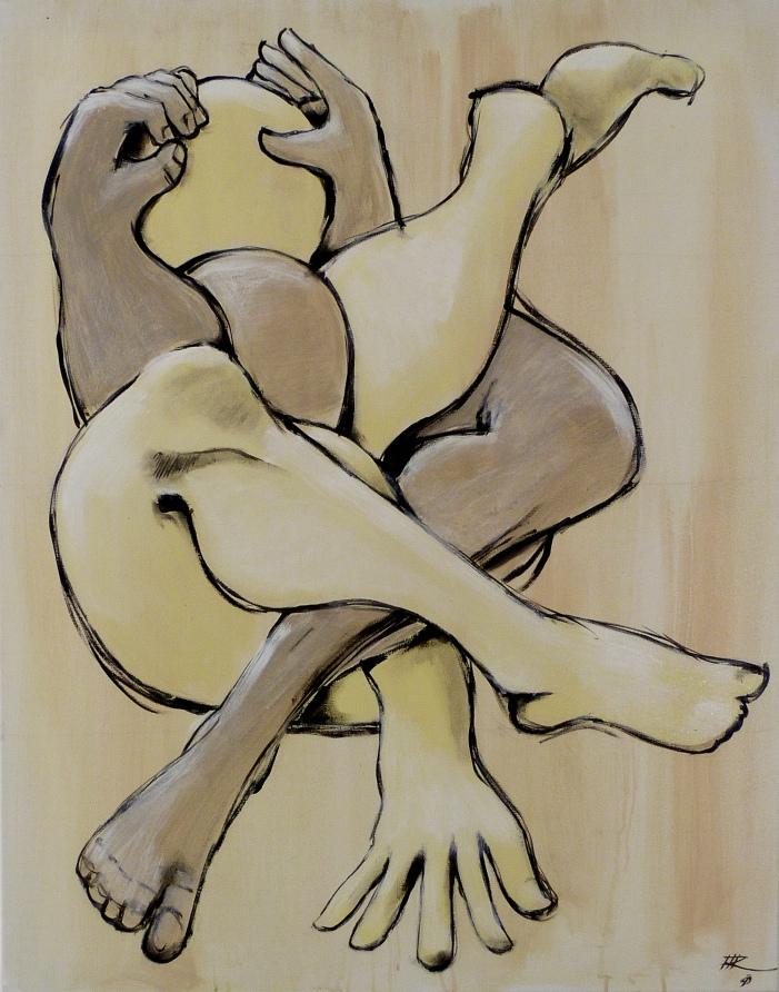 92 x 73, acrylique sur toile, 2010
