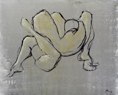 80 x 100, acrylique sur toile, 2010