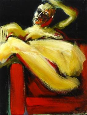 35 x 26, acrylique sur toile, 2008