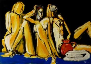 81 x 113, acrylique sur bois, 2008