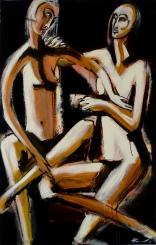 116 x 73, acrylique sur toile, 2008