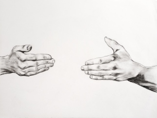 65 x 50, mine de plomb sur papier, 2015