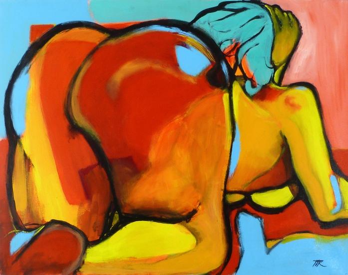 73 x 92, acrylique sur toile, 2007
