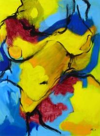 81 x 60, acrylique sur toile, 2007