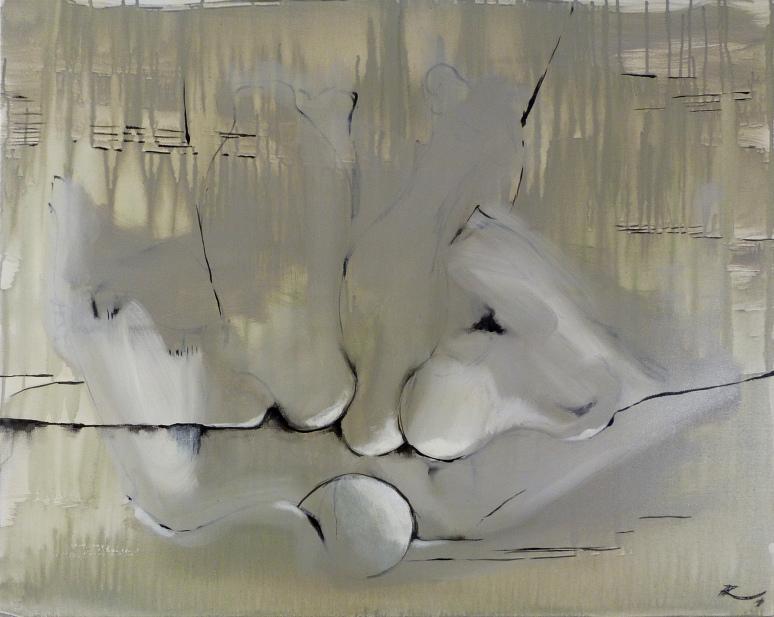 73 x 92, acrylique sur toile, 2014