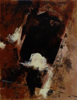 93 x 72, acrylique sur bois, 2007