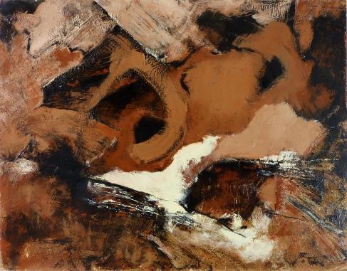 73 x 93, acrylique sur bois, 2007