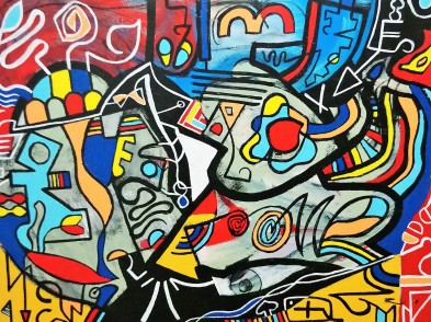80x60, acrylique sur toile